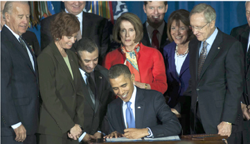 President Obama at signing of DADT